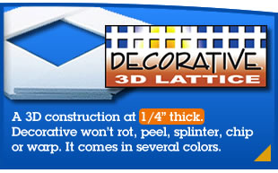 Decorative 3D Lattice