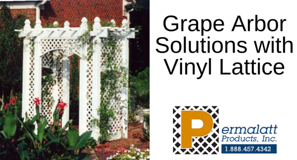 Grape Arbor Solutions with Vinyl Lattice