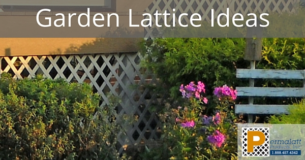 Garden Lattice Ideas