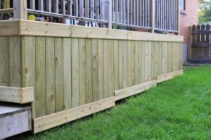 Deck Skirting Fencing Boards